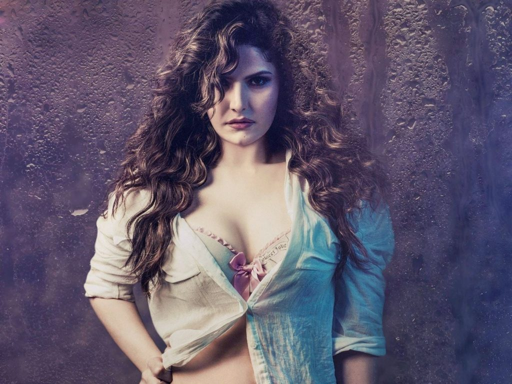 Actress Zareen Khan