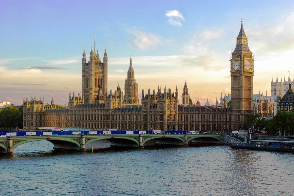 Westminister paliament in UK